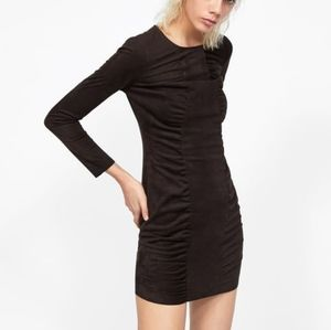 NWT, ZARA Draped Mini Dress